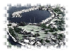 Aerial Shot of Royal Jamaica Yacht Club